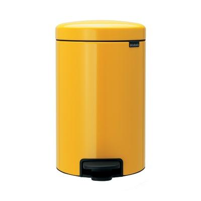 Pattumiera Pedal Bin New Icon 12 L giallo