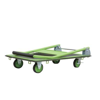 Carrello pieghevole portatutto con pianale, portata 150 kg