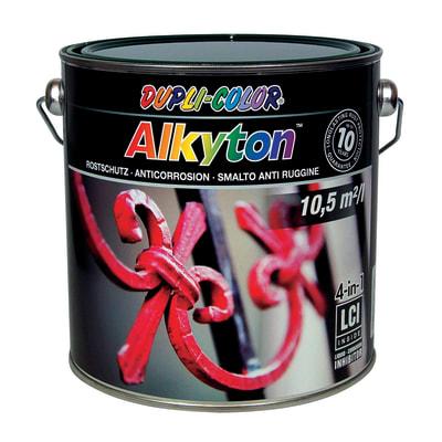 Smalto per ferro antiruggine Alkyton verde RAL 6005 brillante 2,5 L