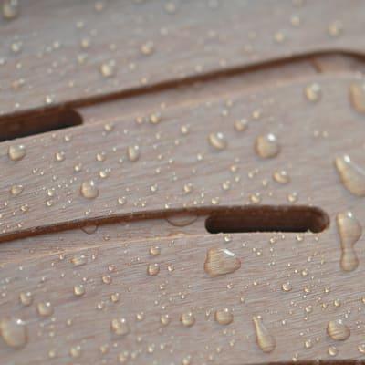 Pedana doccia in compensato marino naturale 50 x 50 cm for Compensato marino leroy merlin
