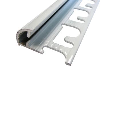 Profilo angolare esterno alluminio 8 mm x 270 cm