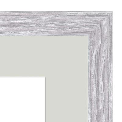 Cornice Lario con passe-partout rovere 13 x 18 cm