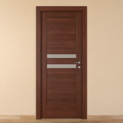 Porta da interno battente Malawi 1 80 x H 210 cm sx