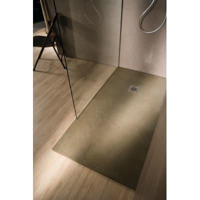 Piatto doccia resina Elements 140 x 80 cm sabbia