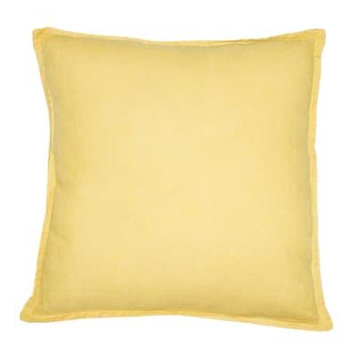 Cuscino Lina giallo 40 x 60 cm