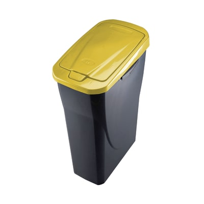 Pattumiera Ecobin 15 15 L giallo