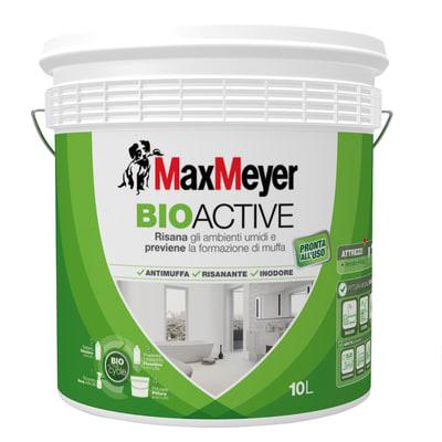 Idropittura antimuffa bianca max meyer bioactive 10 l for Antimuffa leroy merlin
