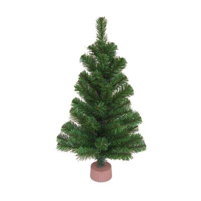 Alberello di Natale da appoggio Colorado H 60 cm