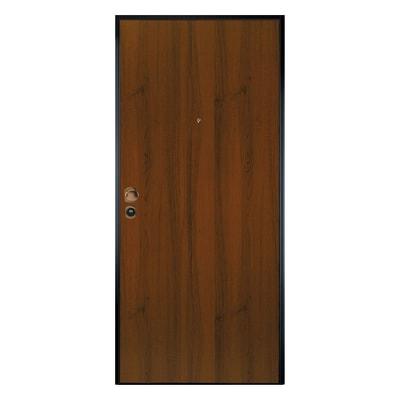 Porta blindata Leopard noce L 80 x H 200 cm dx