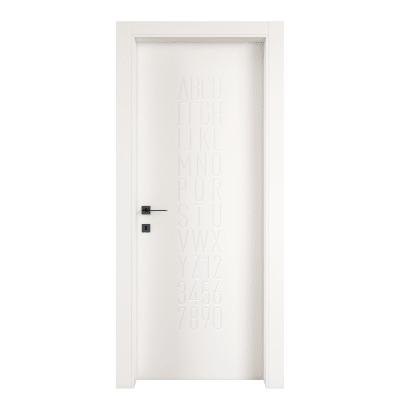 Porta da interno battente Keyboard white bianco 60 x H 210 cm dx