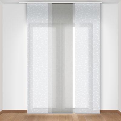 Tenda a pannello resinato Sally bianco 60 x 300 cm