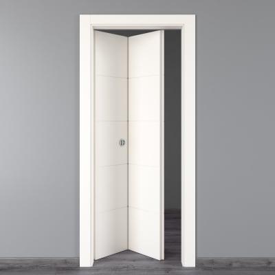 Porta da interno pieghevole Prado bianco 80 x H 210 cm sx