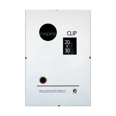 Cornice a giorno Clip Inspire trasparente 20 x 30 cm