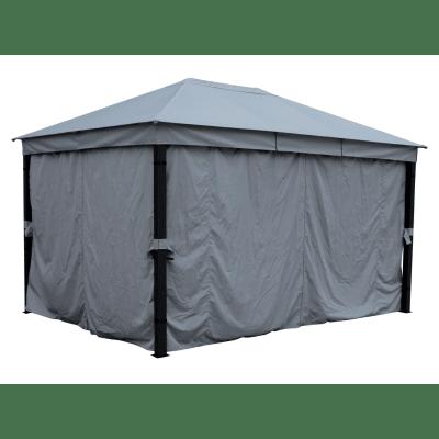 Gazebo Naviti copertura ecru 3 x 4 m