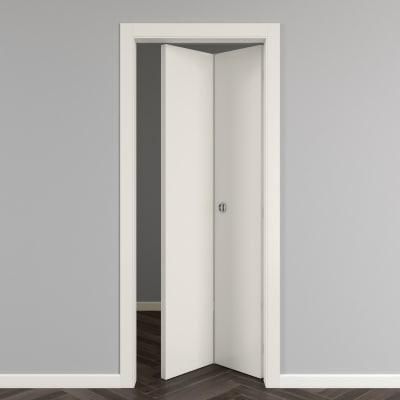 Porta da interno pieghevole Strauss 80 x H 210 cm reversibile prezzi ...
