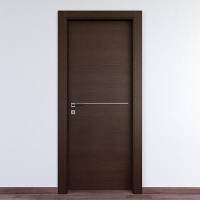 Porta da interno battente Wright Fumo 60 x H 210 cm dx