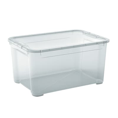 Scatola T Box L L 55,5 x P 39 x H 28,5 cm trasparente