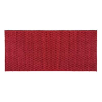 Tappetino cucina antiscivolo Alice rosso 57 x 130 cm