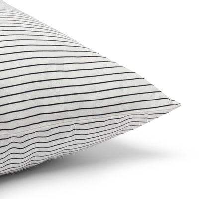 Cuscino Hamp bianco e nero 40 x 40 cm