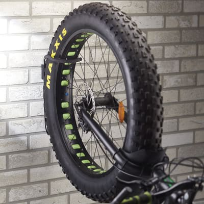 Gancio bici con antifurto 180 x 360 mm