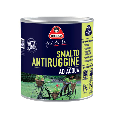 Smalto per ferro antiruggine avorio satinato 0,5 L