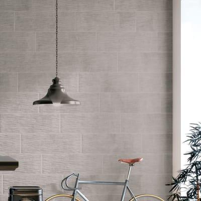Piastrella Decor london 25 x 75 cm grigio