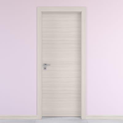 Porta da interno battente Oxford 60 x H 210 cm reversibile