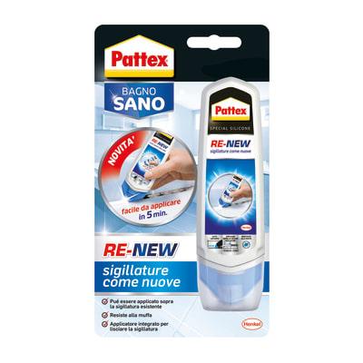 Sigillante Pattex  Bagno Sano Re-New bianco 90 ml