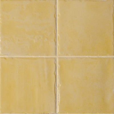 Piastrella Jolie 10 x 10 cm giallo