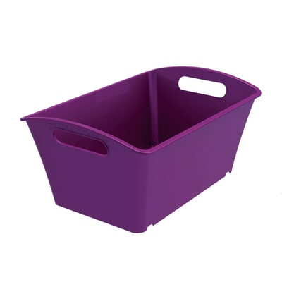 Cesta Q-In Box 1.5 L L 17,8 x P 11,3 x H 9,1 cm colori assortiti