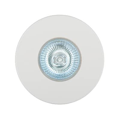 Faretto da incasso Kilia bianco fisso rotondo Ø 8,6 cm 50 W luce calda