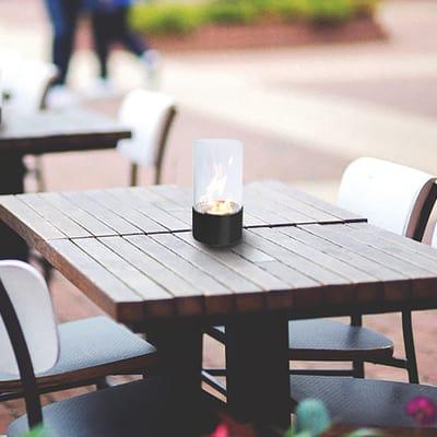 Biocamino da tavolo Torcello