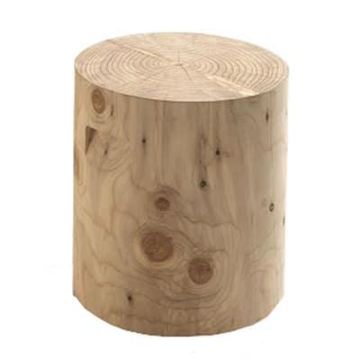 Tronco tondo legno 30 40 x h 45 cm grezzo prezzi e for Cavalletti in legno leroy merlin