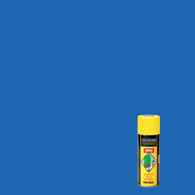 Smalto per ferro antiruggine spray Saratoga Fernovus azzurro brillante 0,4 L