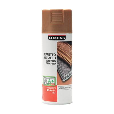 Smalto spray Effetto Metallo Luxens oro metallizzato 400 ml