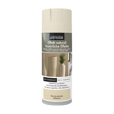 Spray effetto Rustolium pietra calcarea avorio 400 ml