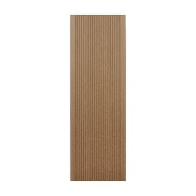 Listone pieno Simplywood 14 x 200  cm x 21  mm tabacco
