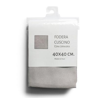 Fodera per cuscino Kazoo grigio 40 x 40 cm
