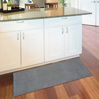 Tappetino cucina antiscivolo Alice grigio 57 x 270 cm