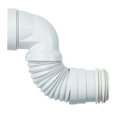 Curva wc estensibile ad innesto 100 - 110 mm