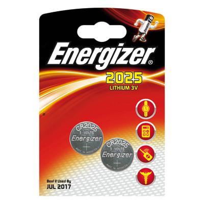 Pila a bottone Litio CR2025 Energizer