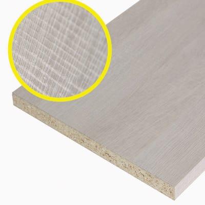 Pannello melaminico rovere chiaro 18 x 200 x 1200 mm