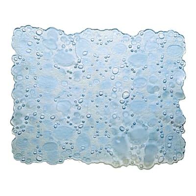 Tappetino lavello Drop trasparente L 40 x H 30 cm
