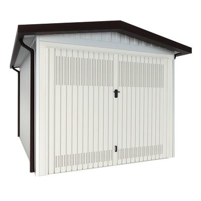 Garage in metallo Newport, 21,2 m²