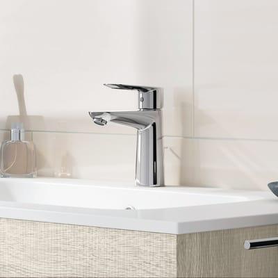 Mobile bagno Key rovere bianco L 90 cm