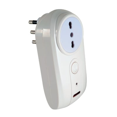 Presa salva energia con misuratore di consumi wireless Smart Socket