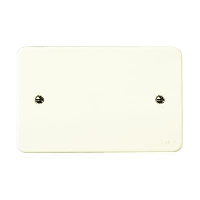 Coperchio rettangolare Vimar per scatole da incasso unificate 3 moduli bianco