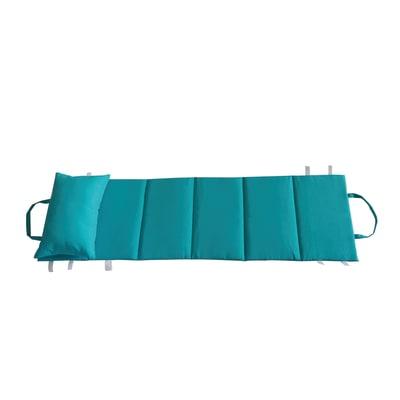 Cuscino pieghevole Beach azzurro 180 x 50 cm