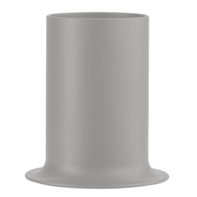Porta posate e mestoli Porta utensili da cucina Taula - tortora grigio L 13,5 x P 13,5 x H 14,9 cm