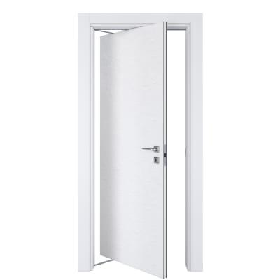 Porta da interno rototraslante Hunk cemento calce 70 x H 210 cm sx